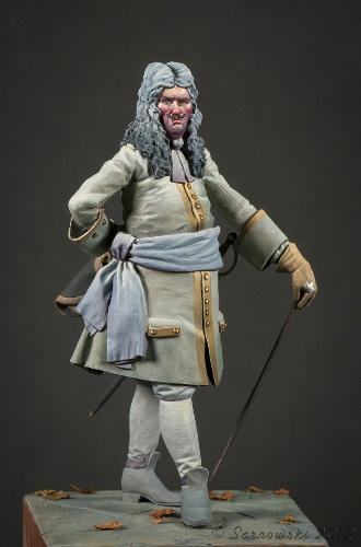 French Officer 1704 Mike Blank Painters Gold