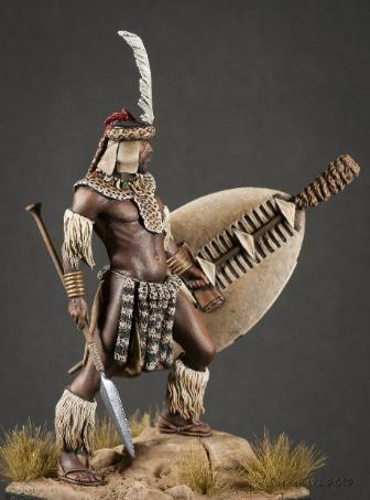 Zulu Warrior Jason Green