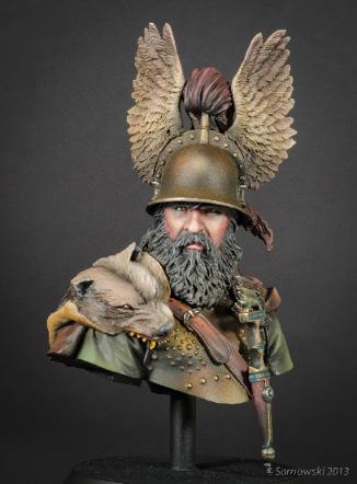 Celtic Warrior 6th Cent BC Jeff Burns