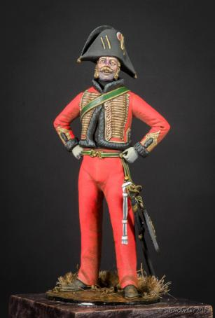 Chasseur Officer 2nd Regt 1815 Jason Whitman