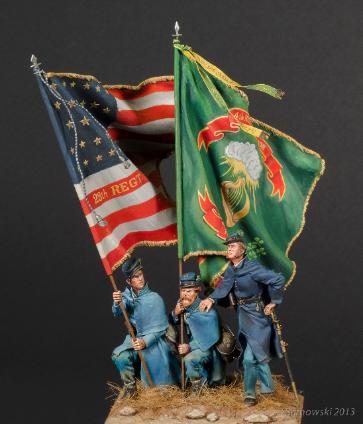 Irish Brigade at Fredricksburg Bill Horan