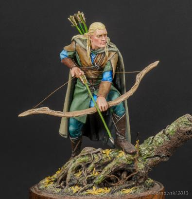 Legolas Middle Earth The Lord of The Rings Lee Williams