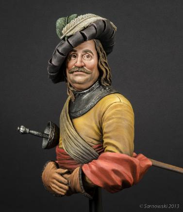 Man in Gorget and Cap Jason Green