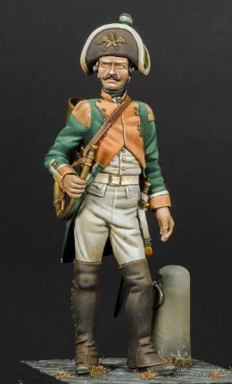 Prussian Fusilier Stephen Malia
