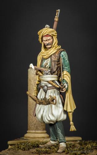 Albanian Chieftan Stephen Malia