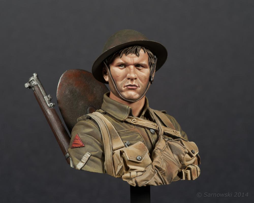 British Infantry WWI Stephen Malia