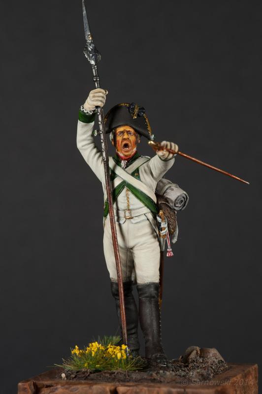 Sgt Saxon Infantry Mike Cobb