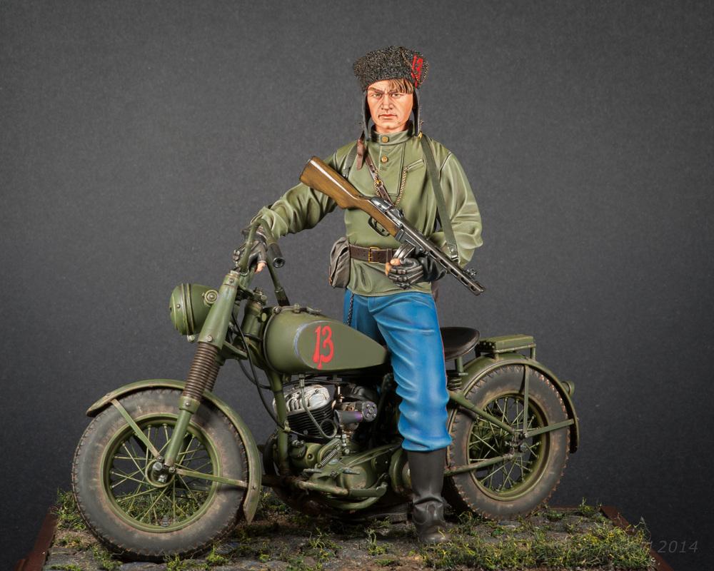 Iron Horse Cossack Alex De Leon