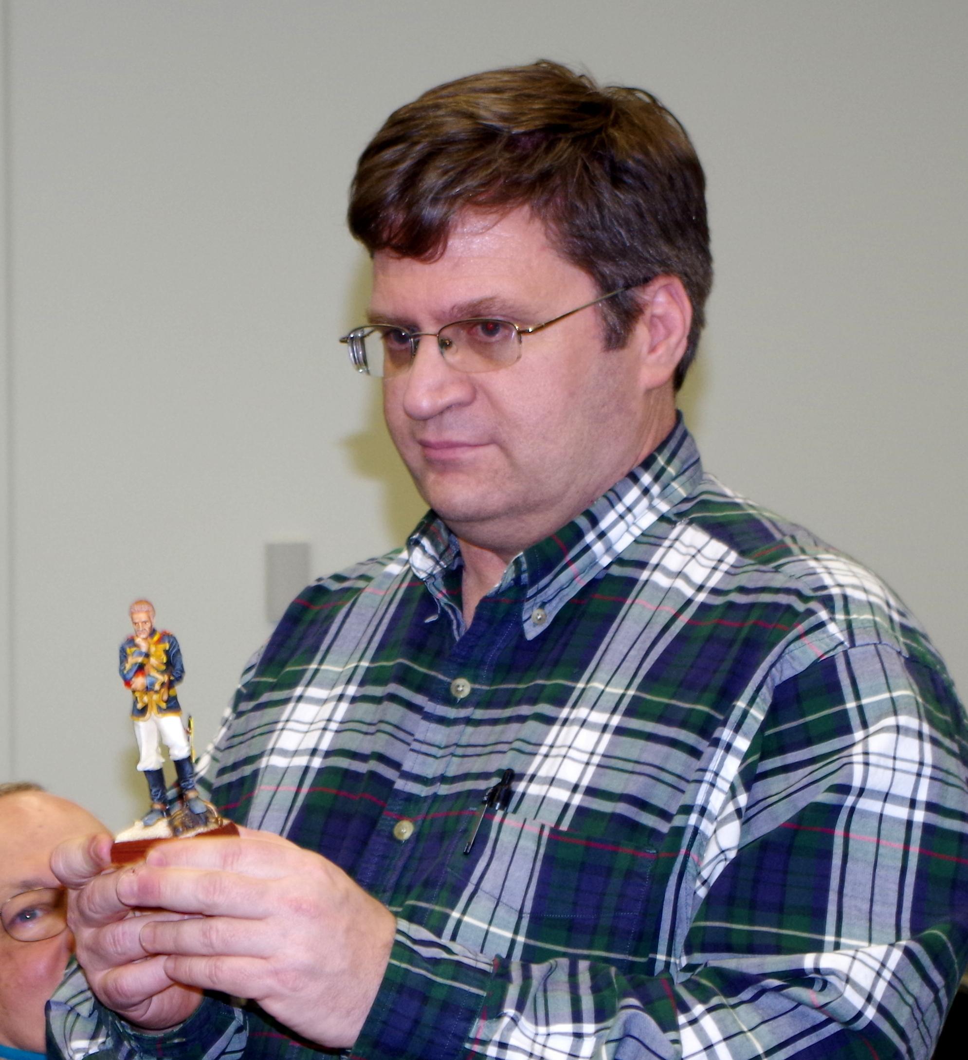 Pat Vess, current show chairman  (John VanDerMeulen, co-chair, 2013-14)