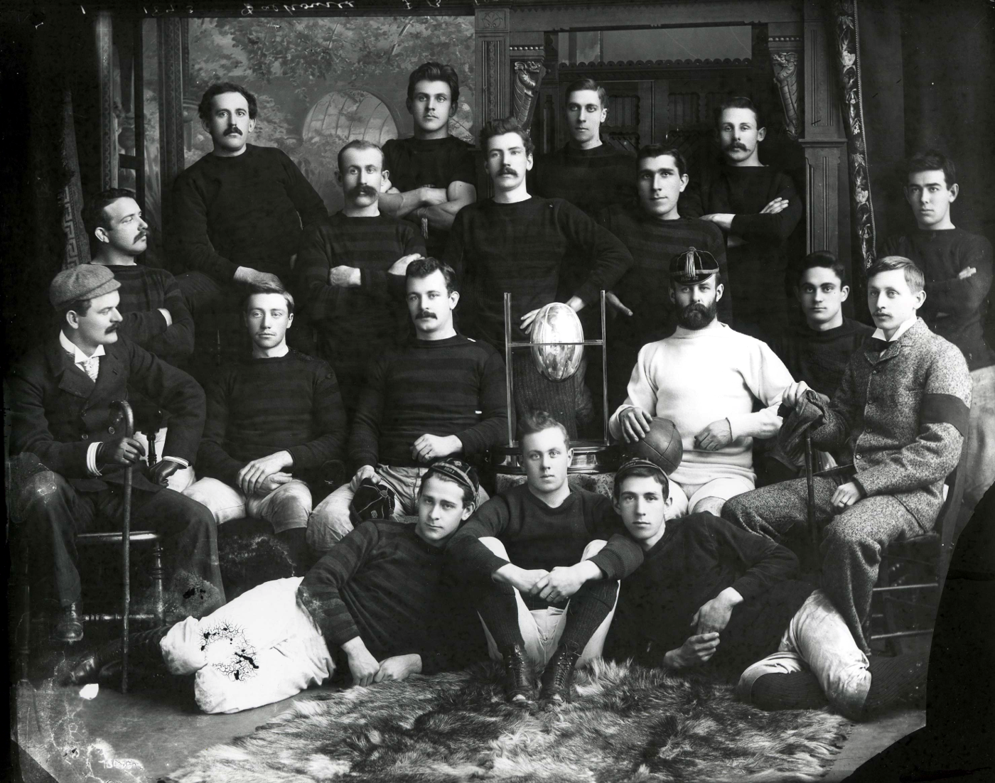 The 1893 Dalhousie Football team never lost a stare-down. Ever.