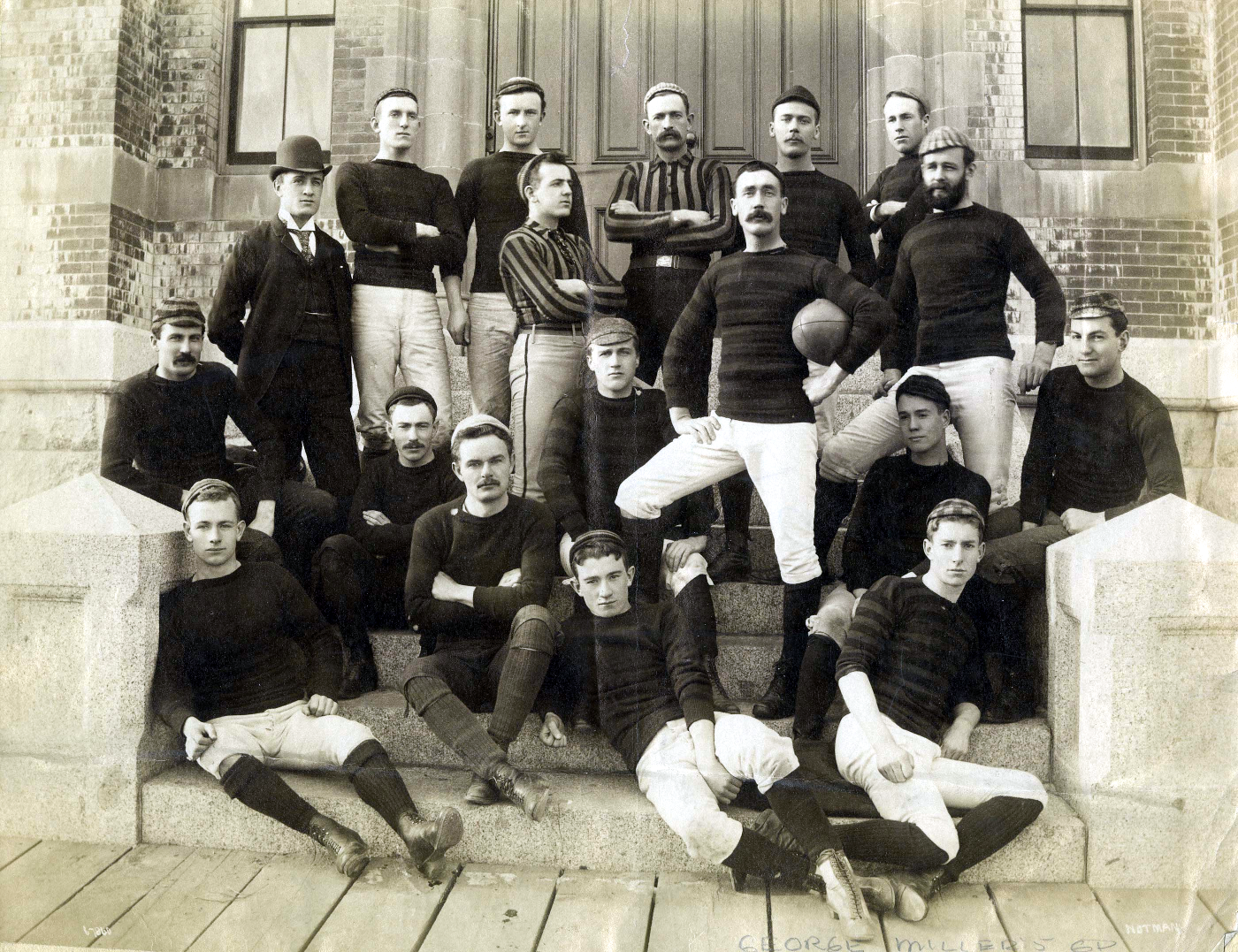 The Boys of Summer:George Miller's Football Crew from theDalhousie Law School Graduating Class of 1895.