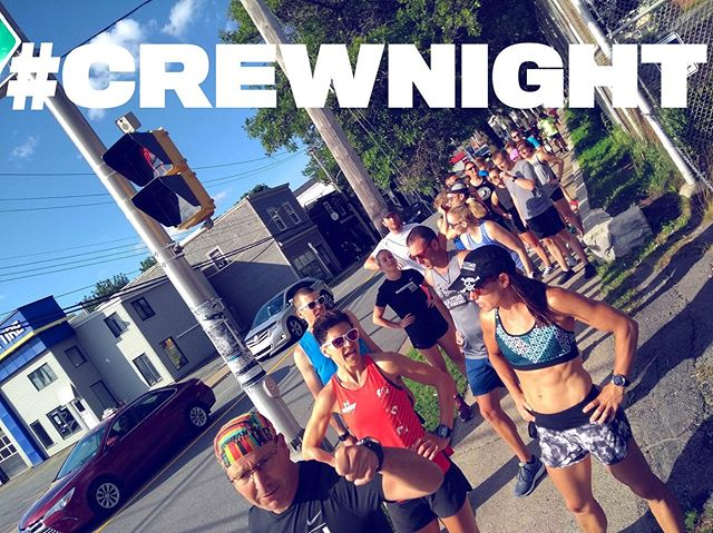 // TONIGHT // Wednesday runday and it's hot hot hot 🔥 Let's kick it with a twist on an OG south end roll. 6pm sharp. 6K and 4K options. And heads up that friends over at @cyclesmithhfx will shelter your gear during the run, just ask 🙌 #runfam #hotsquad #sweatinstyle