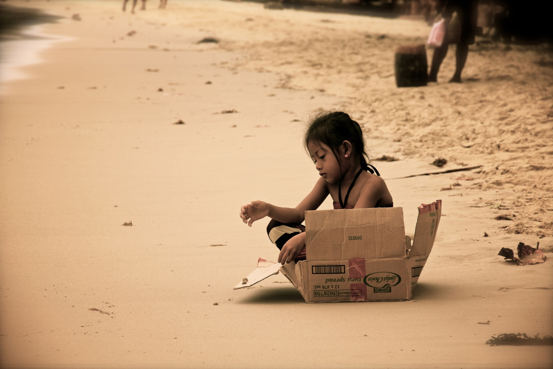 Girl in a Box.