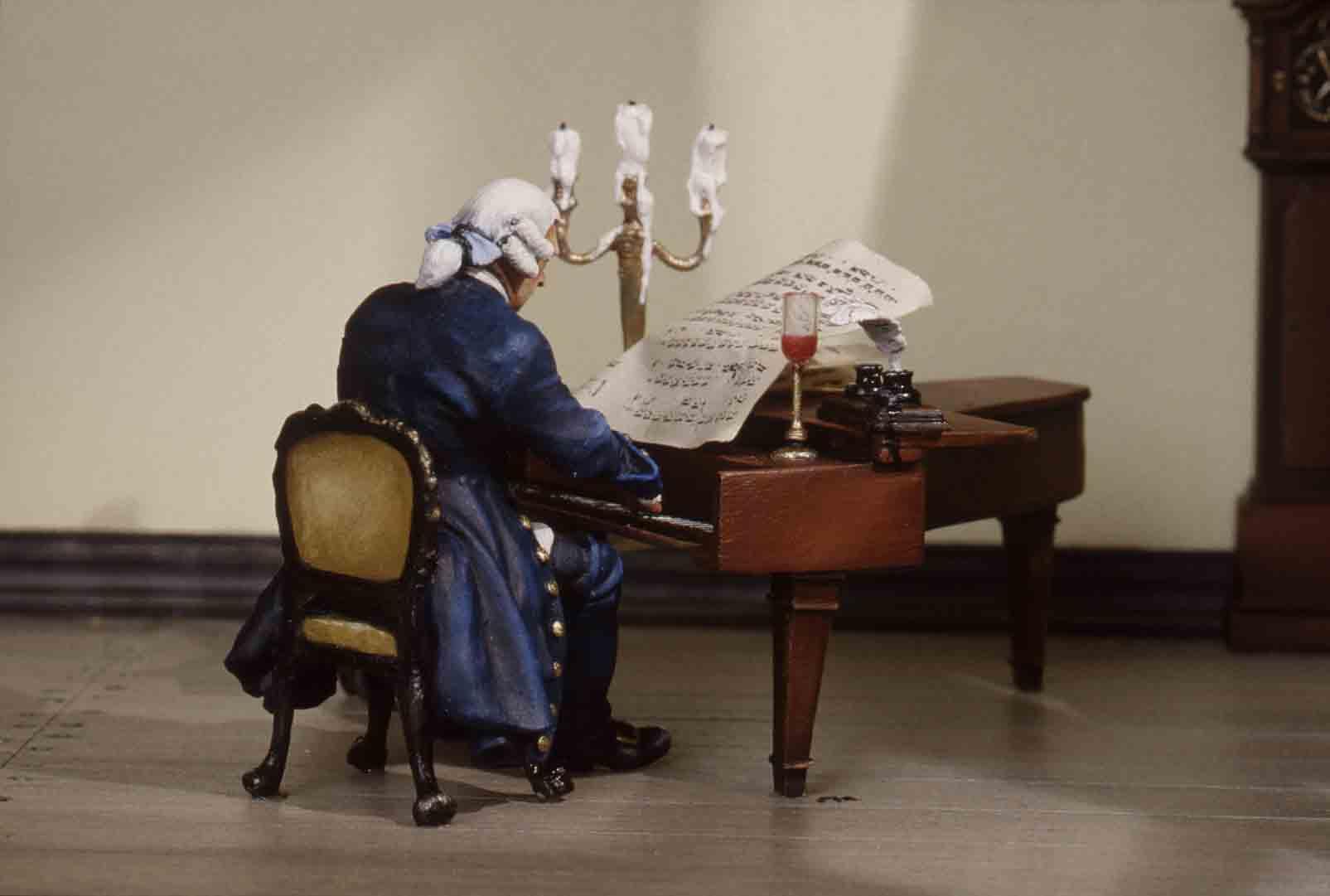 Mozart at Work.