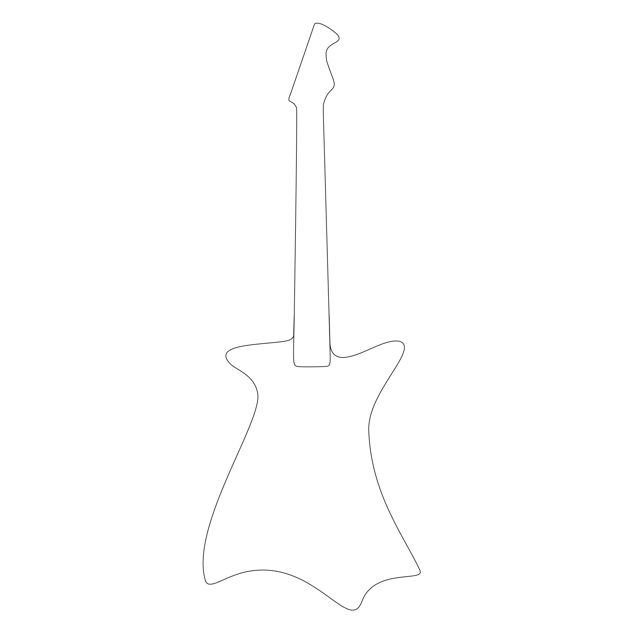 Rascal Guitar - Wraith with Neck