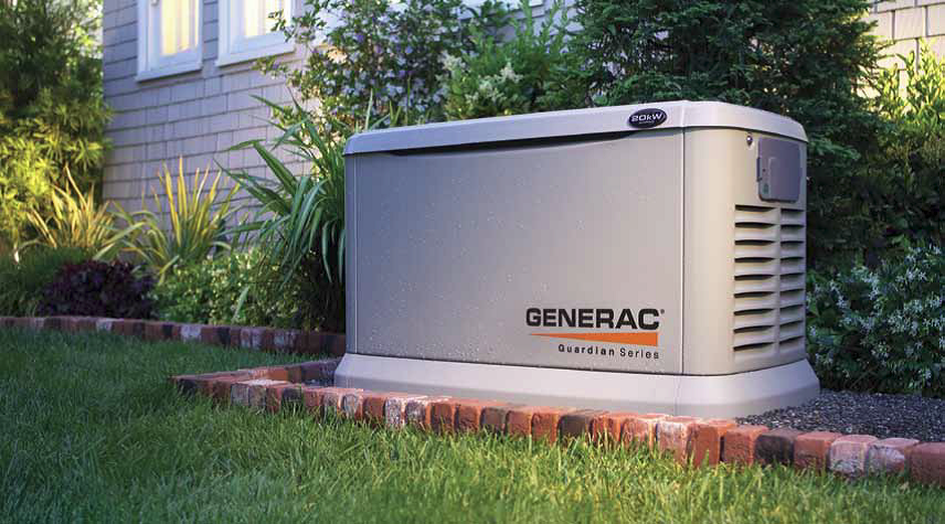Provide Peace of mind at all times for you and your family with a Generac standby power generator system