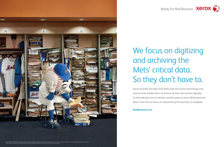 Xerox Mr. Met, Young & Rubicam NYC