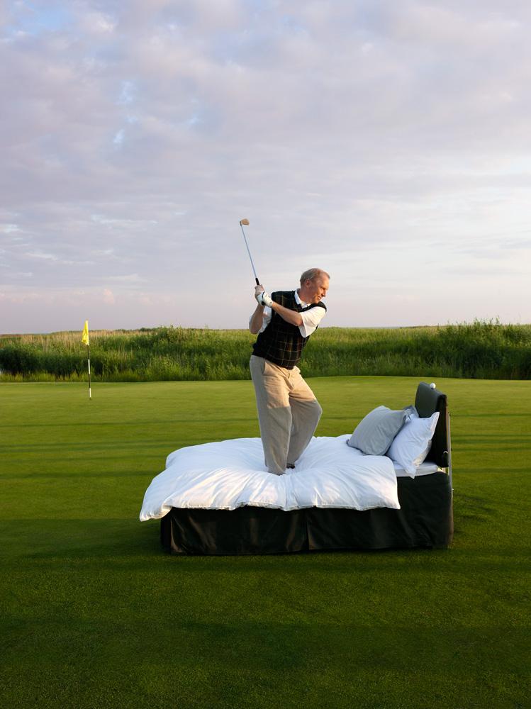 Bed Golfing