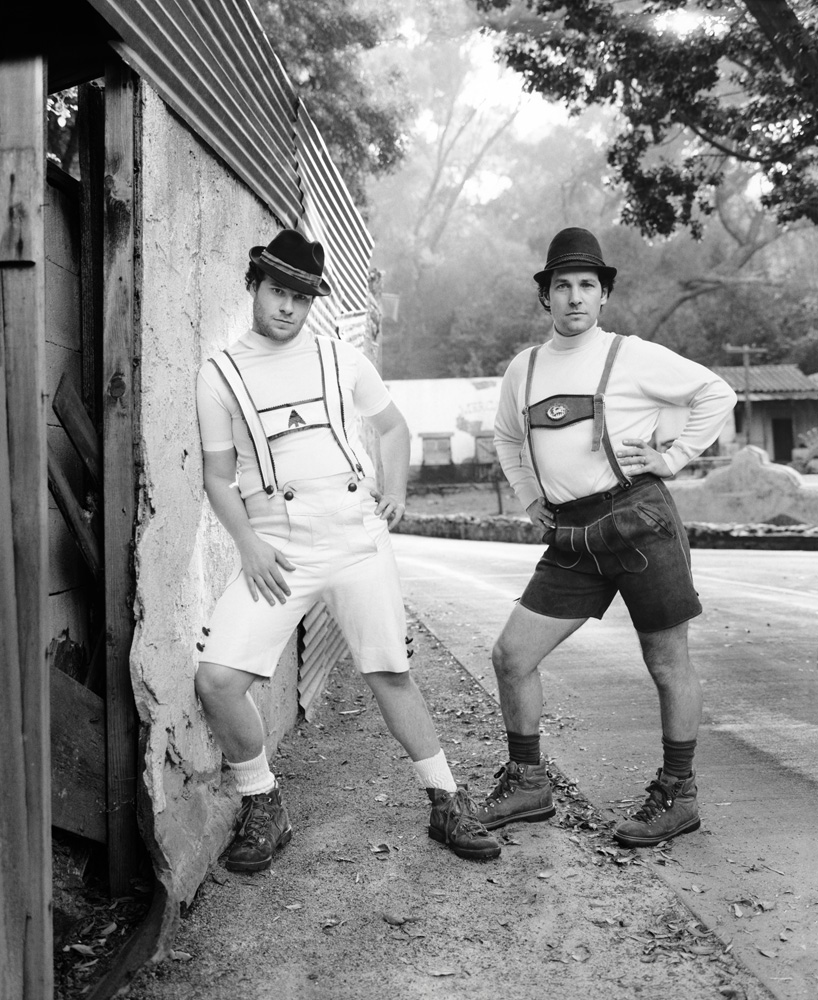 Seth Rogen & Paul Rudd