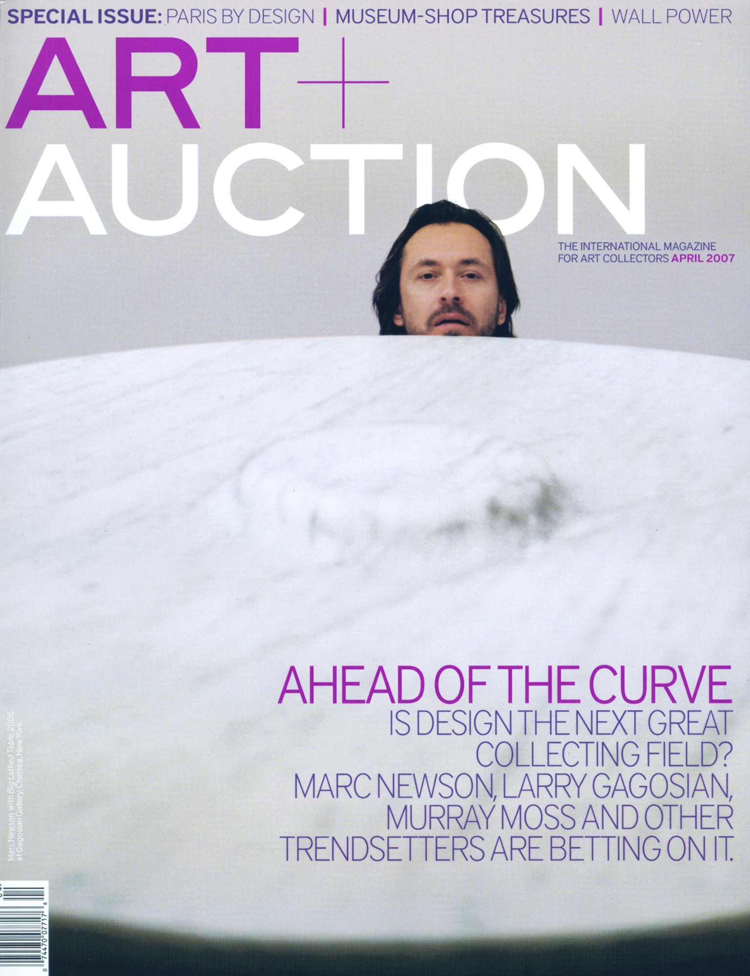 Marc Newson,  Art + Auction
