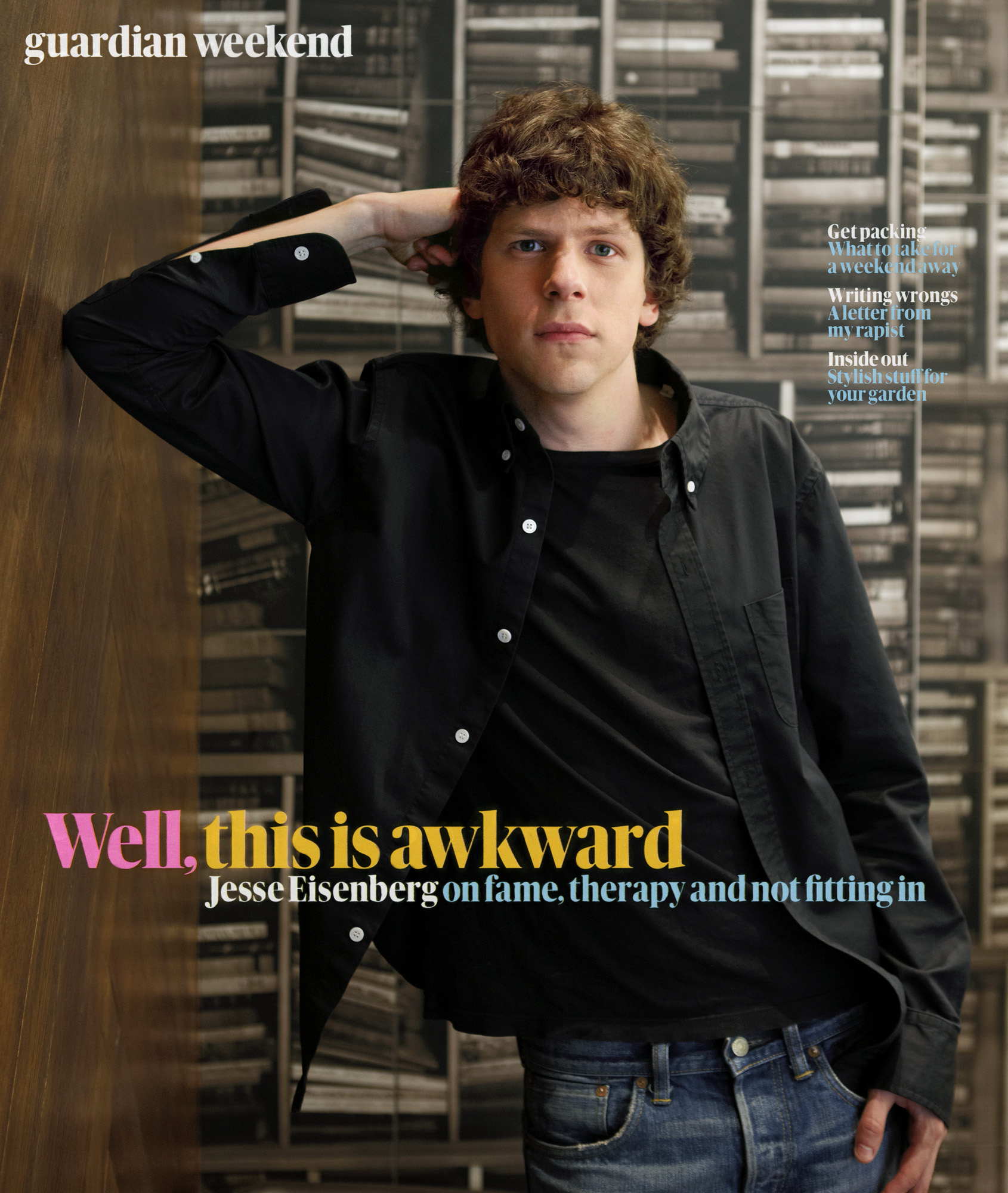 Jesse Eisenberg,  Guardian Weekend