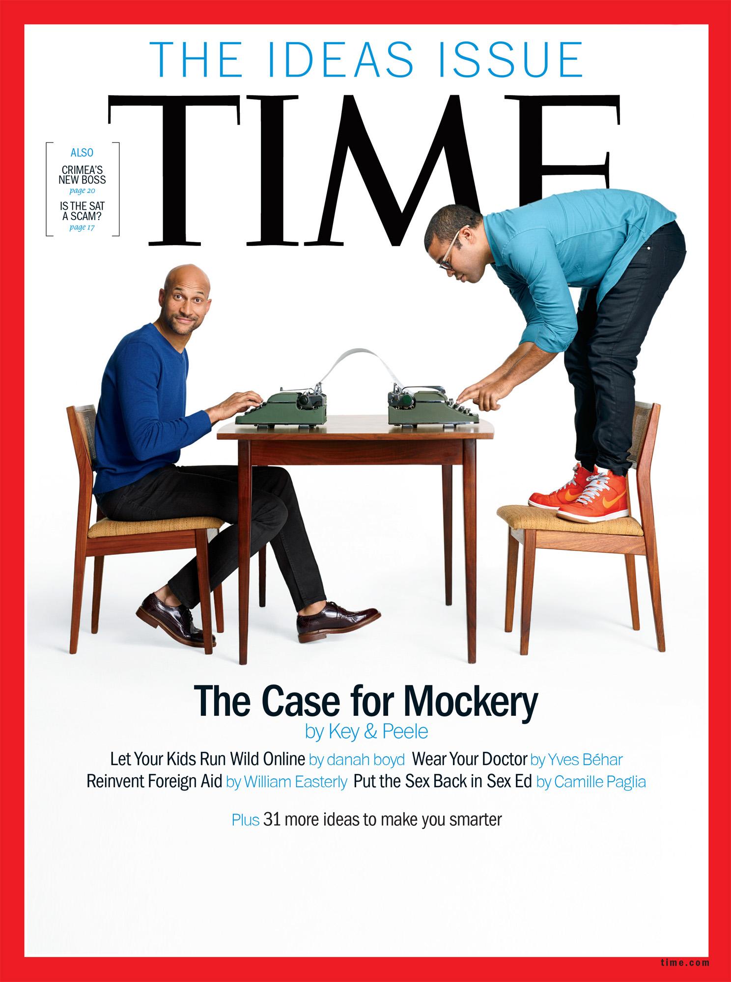 Key & Peele,  Time , Cover Portraits