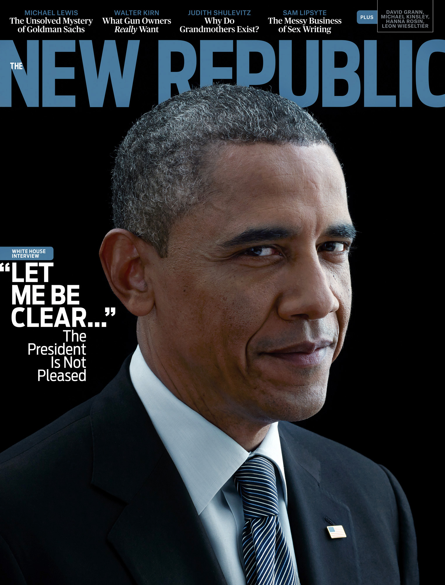 President Barack Obama,  The New Republic