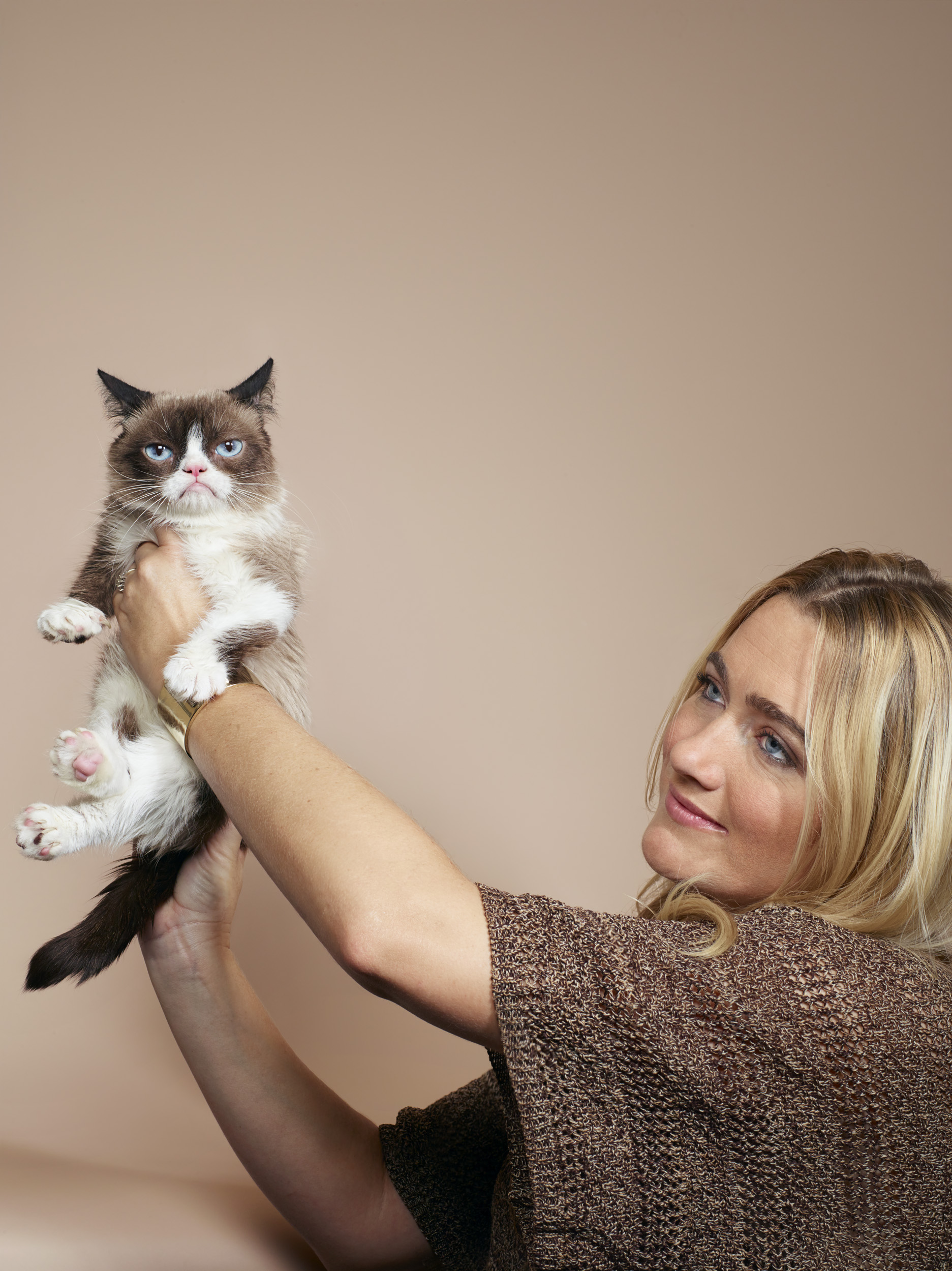 The Grumpy Cat, with Tabatha Bundesen