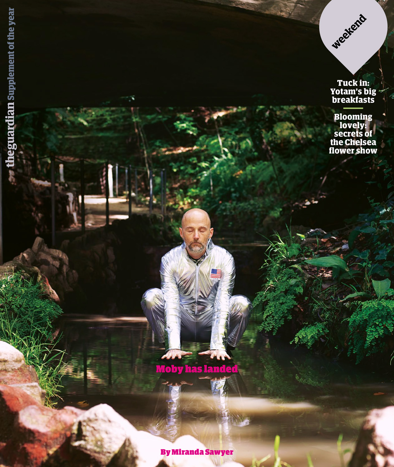 Moby,  Guardian Weekend