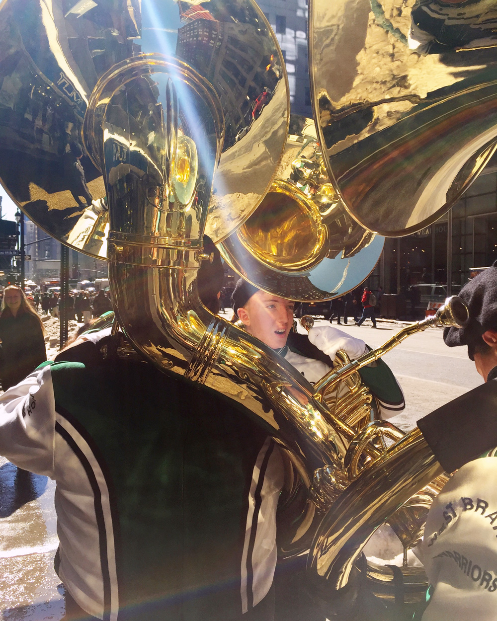 St. Patrick's Day Parade, Snaps