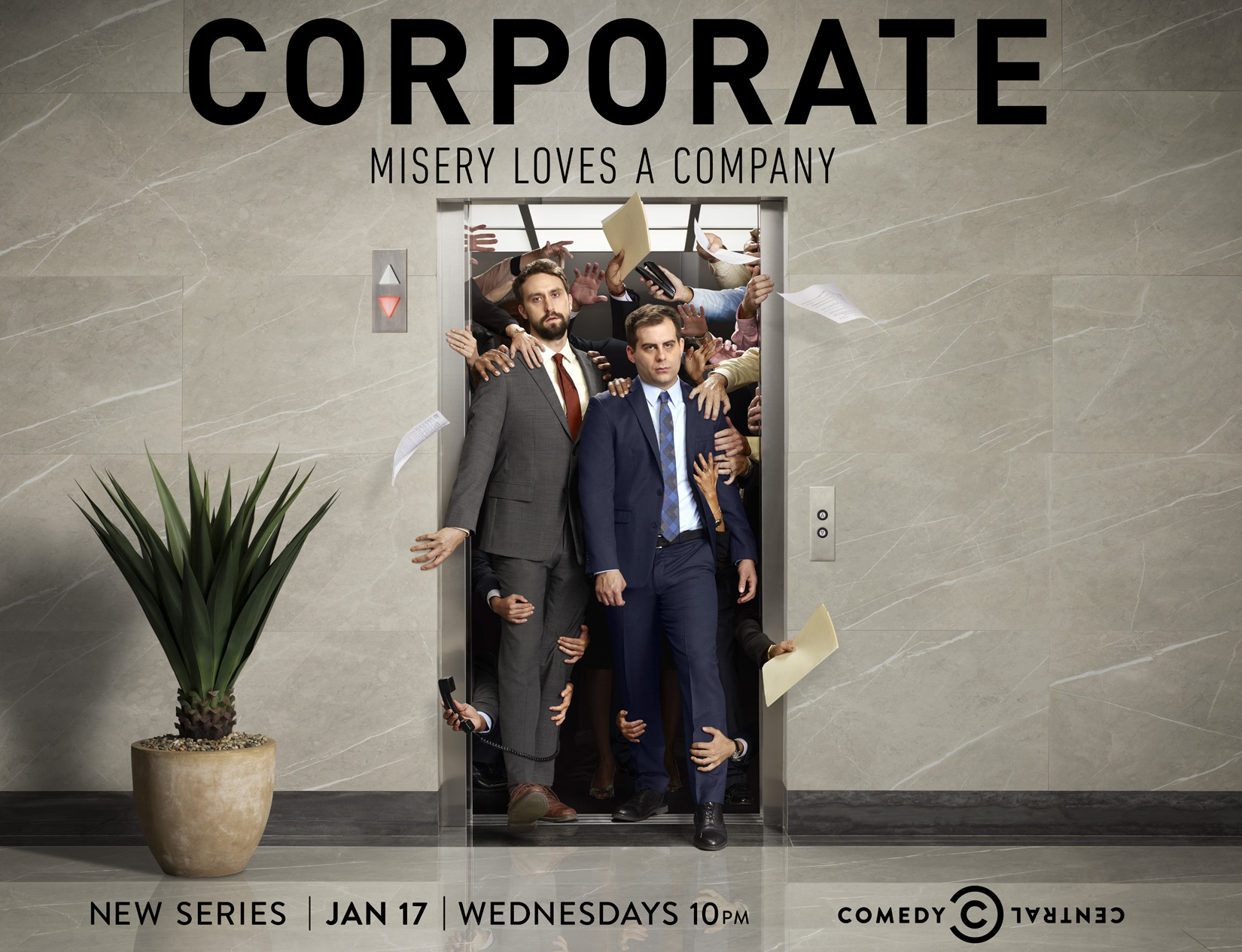 Corporate, Season 1, Comedy Central