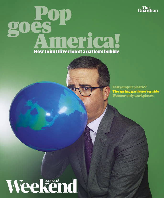 John Oliver,  Guardian Weekend