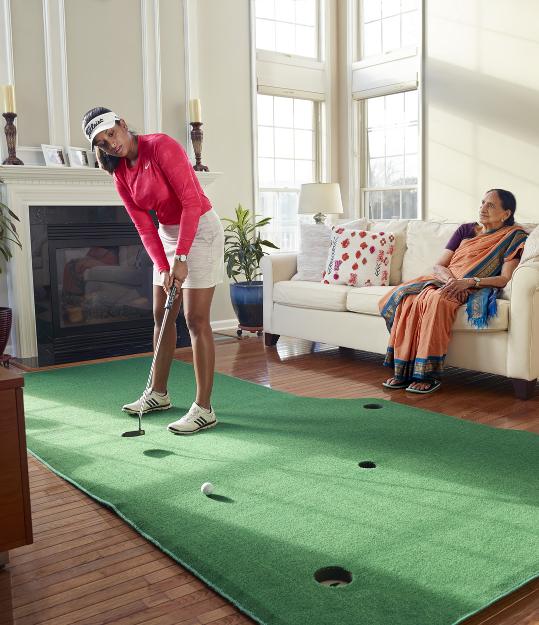 Megha Ganna, golf prodigy