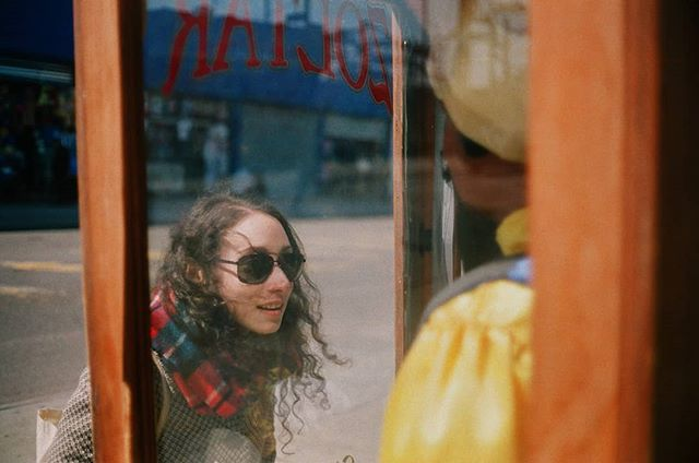 Hanging out with @unhappynewyork today. Here's one from when went to #coneyisland last weekend. #zoltar #minolta7s2 #film #brooklyn