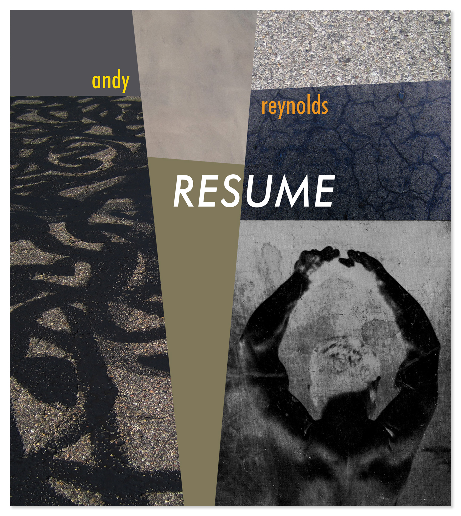 RESUME book front cover