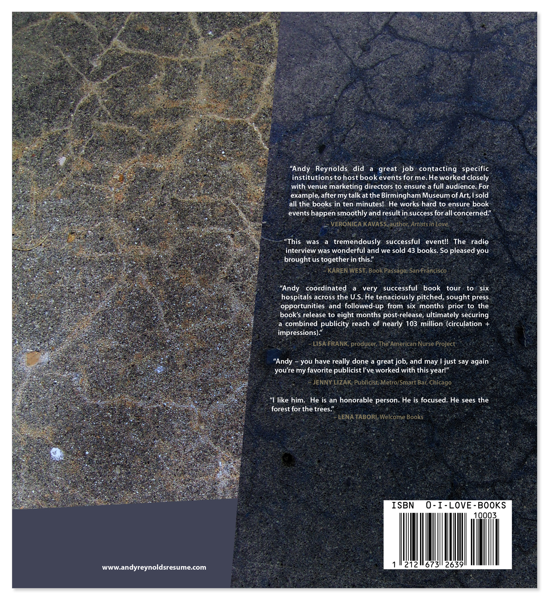 Example Back Cover Of A Book