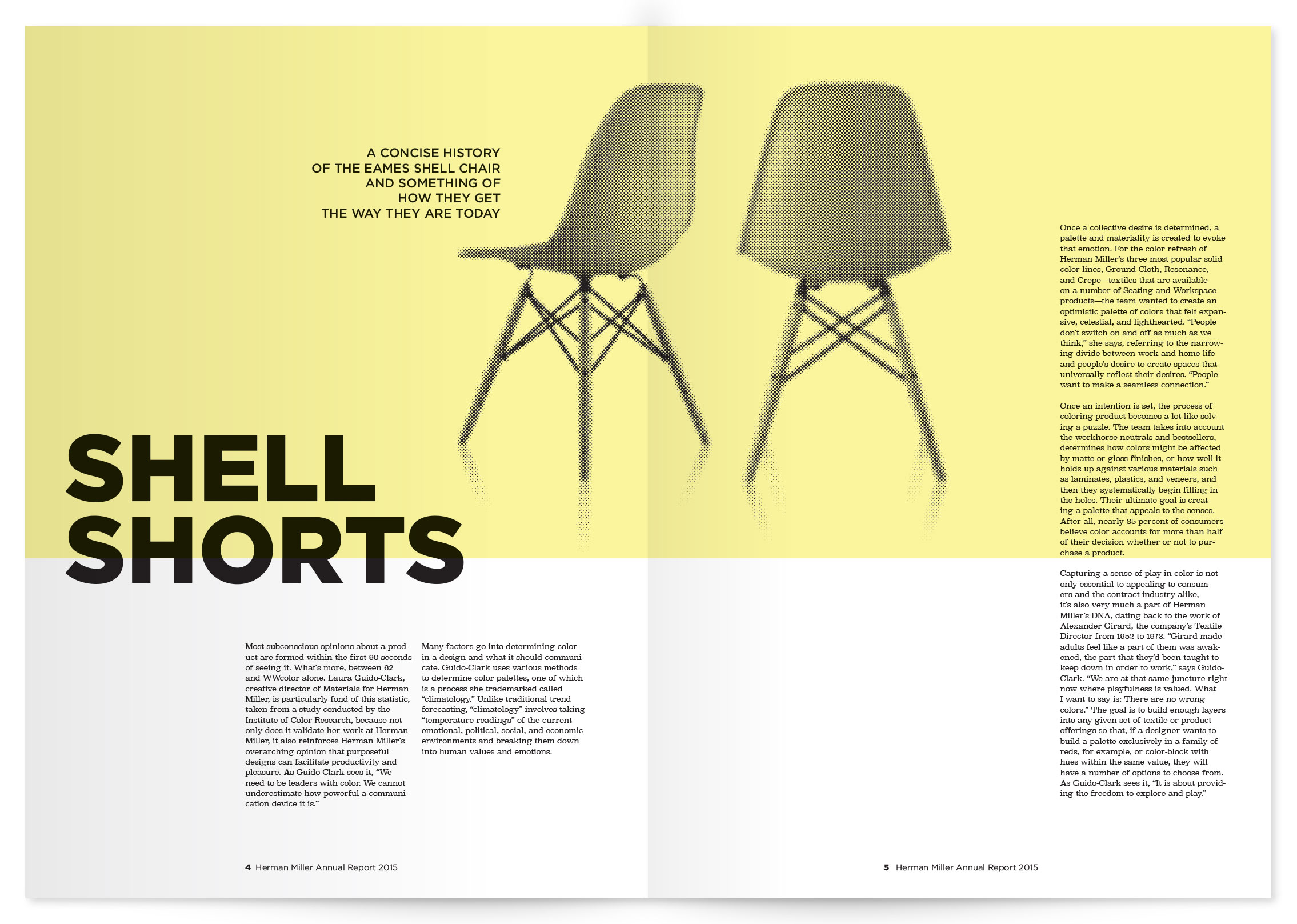 annual report interior spread