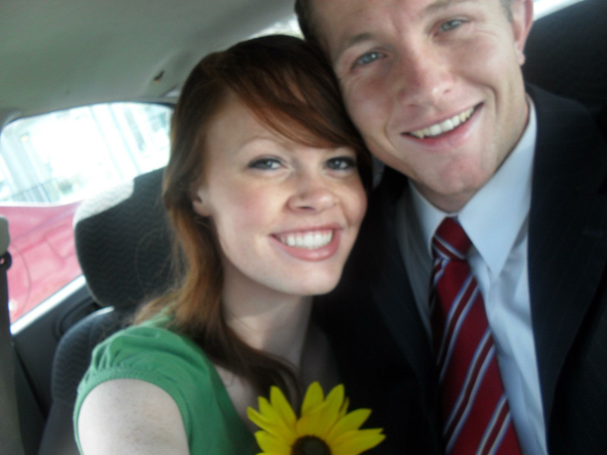 Before a trip to the temple!