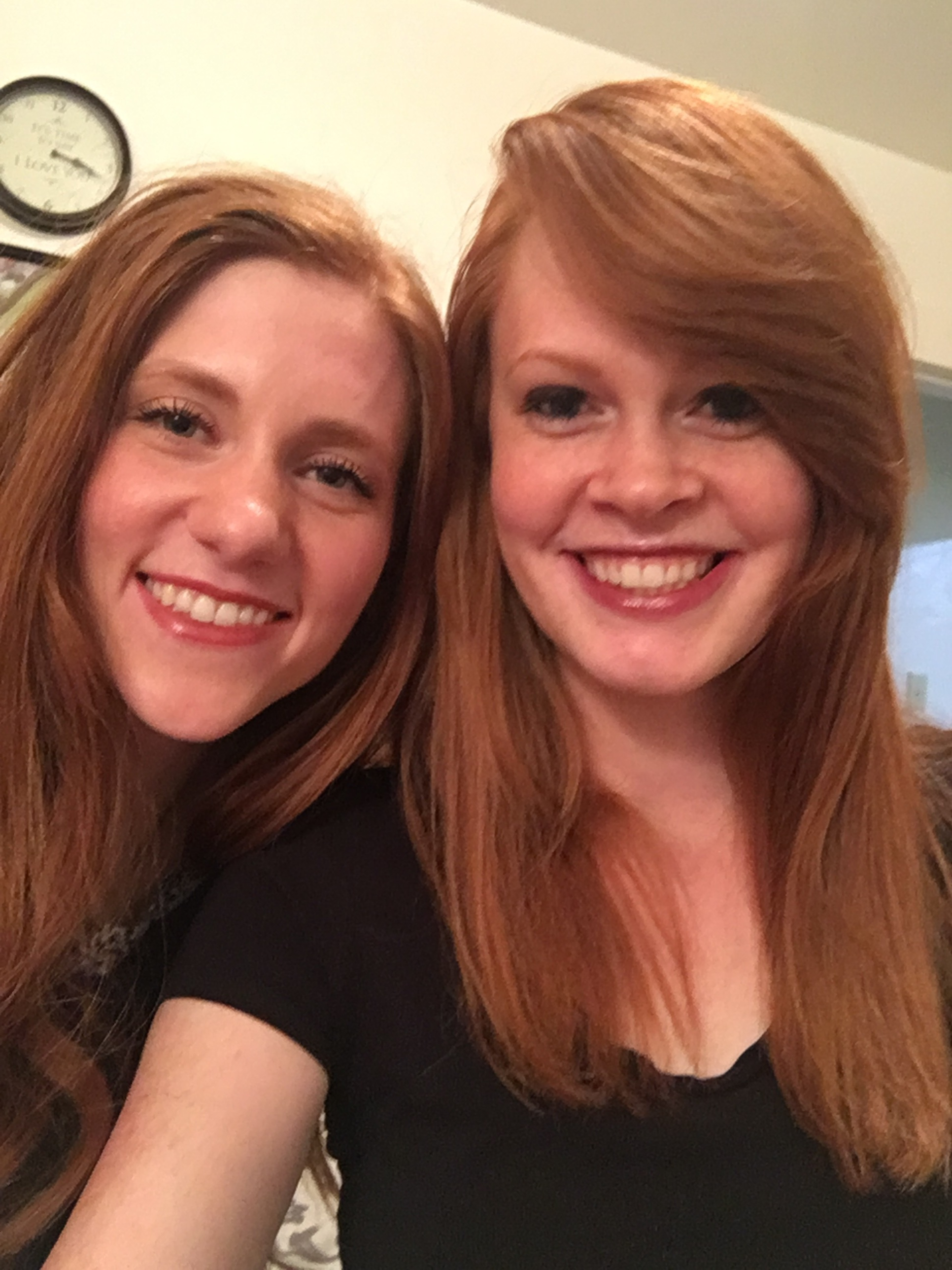 Hayley! My red headed, soul sista twin :)