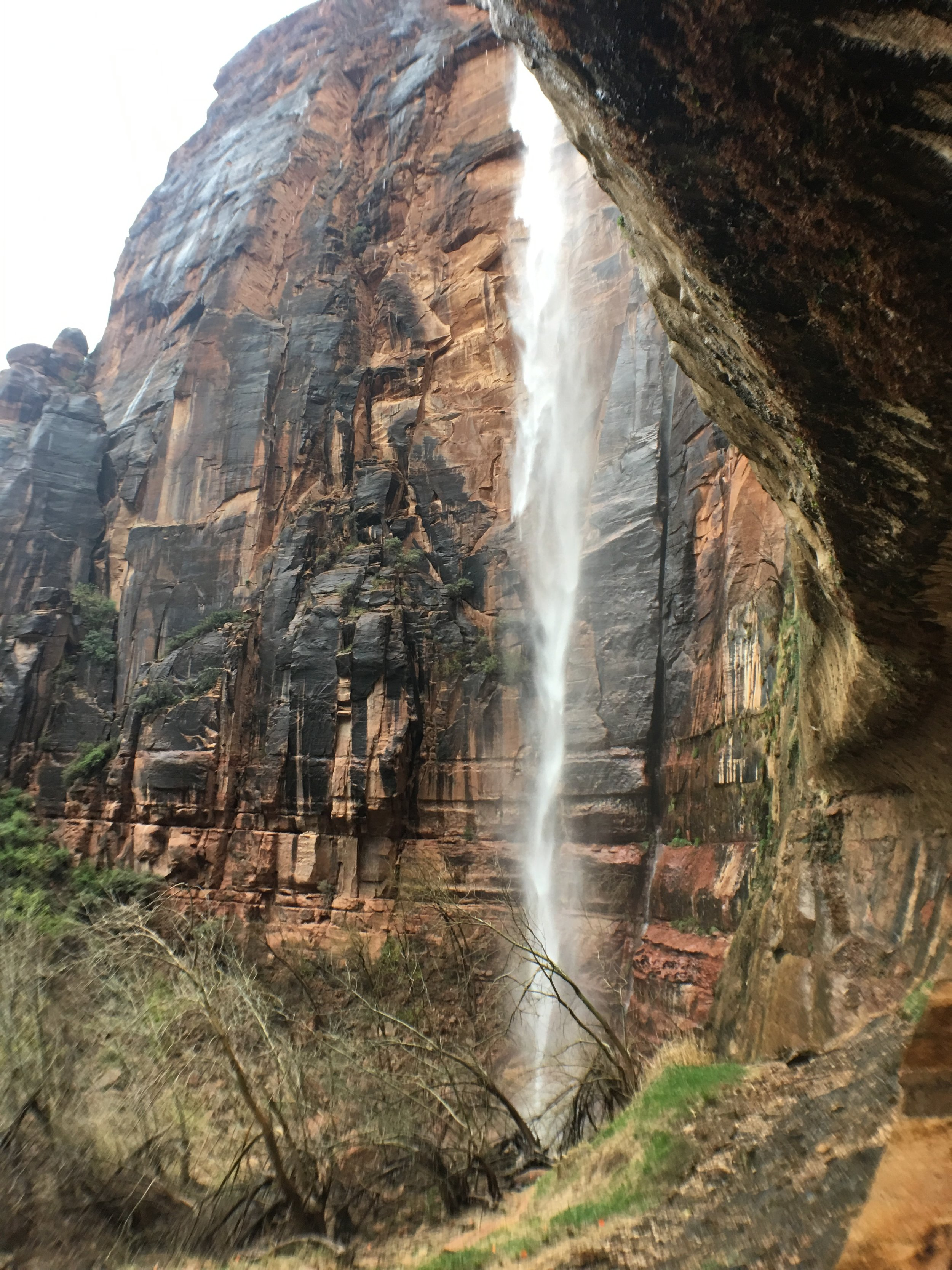 The Weeping Rocks