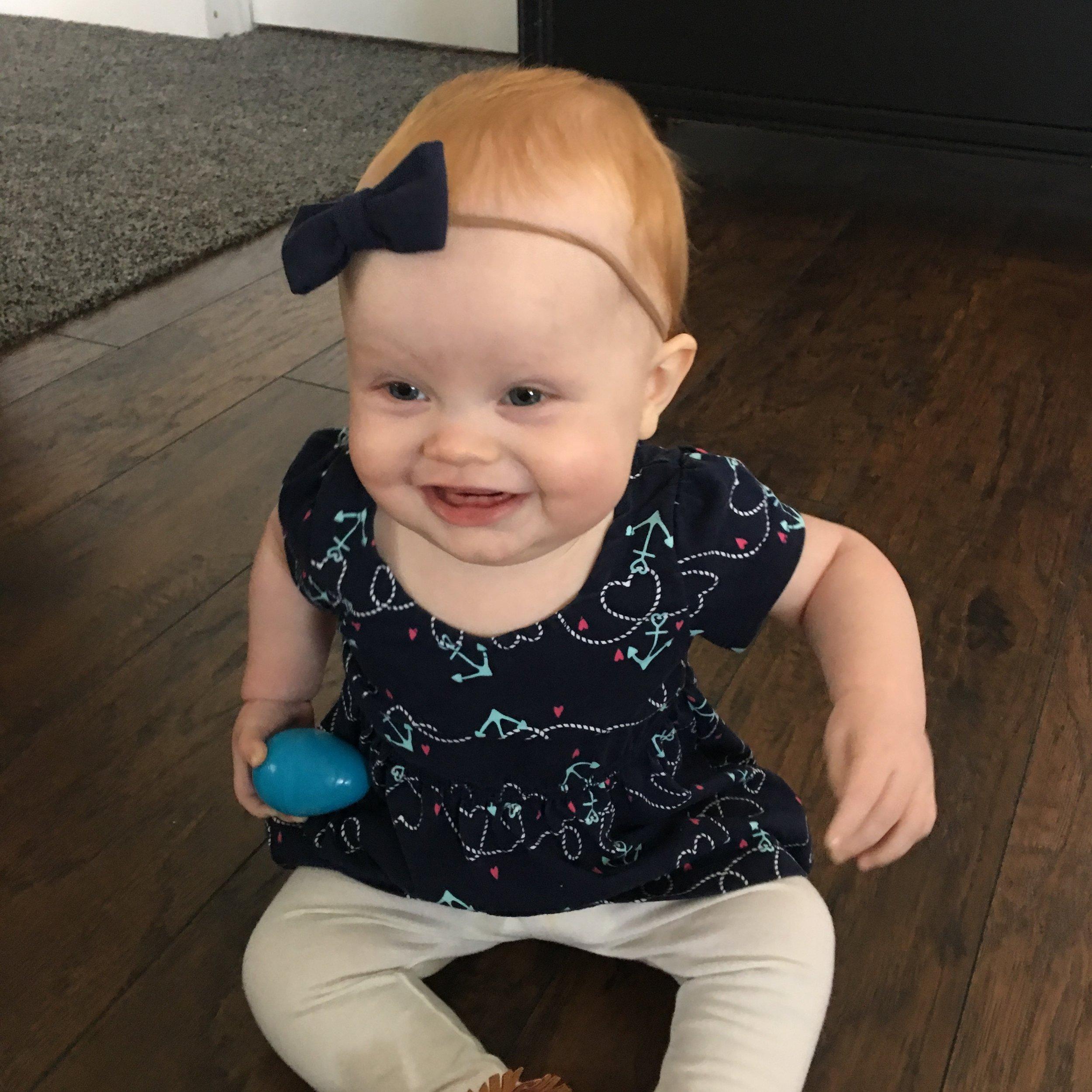 So much joy in one tiny body!