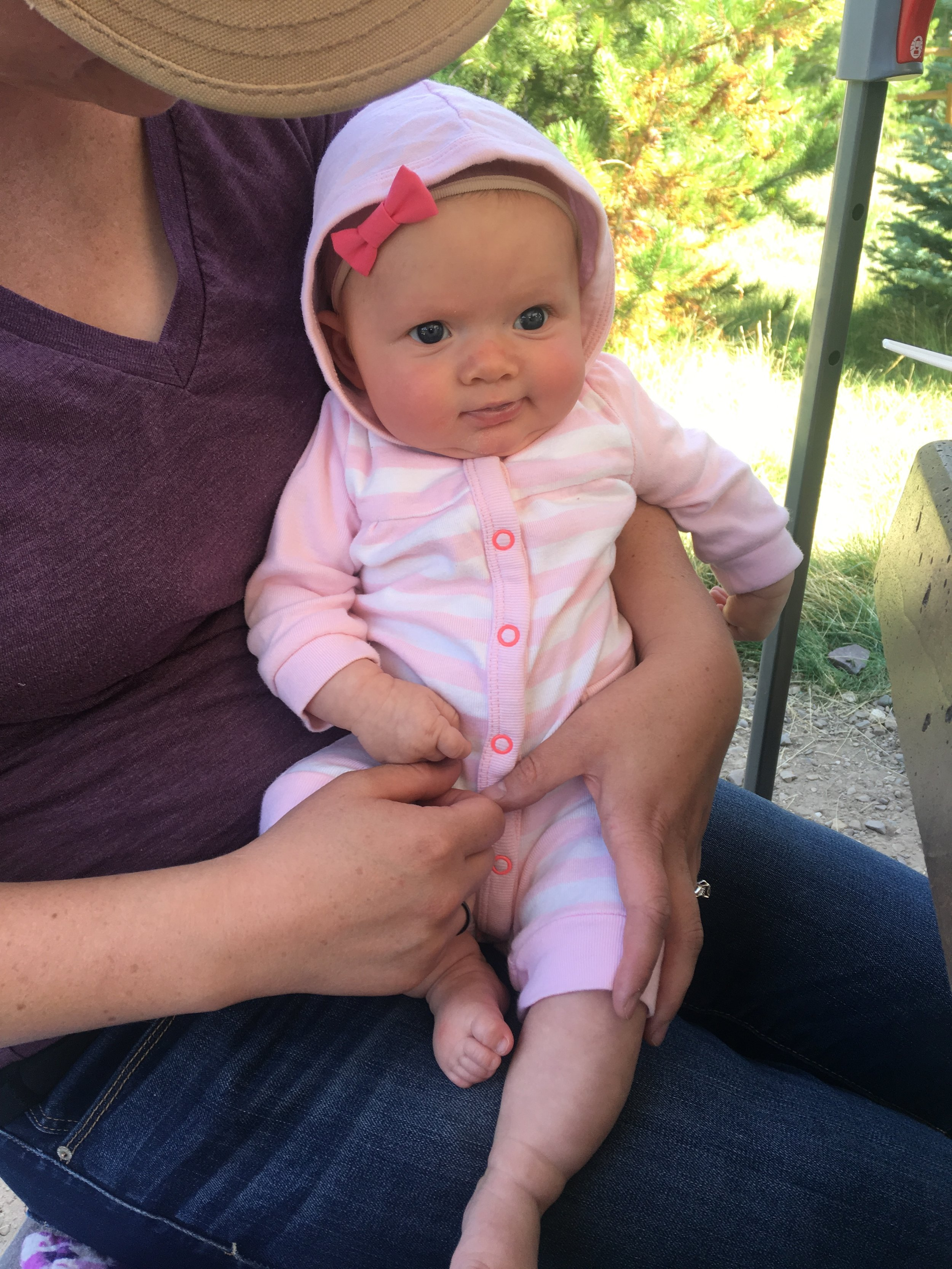 Baby Lily was such a sweetheart the whole trip!