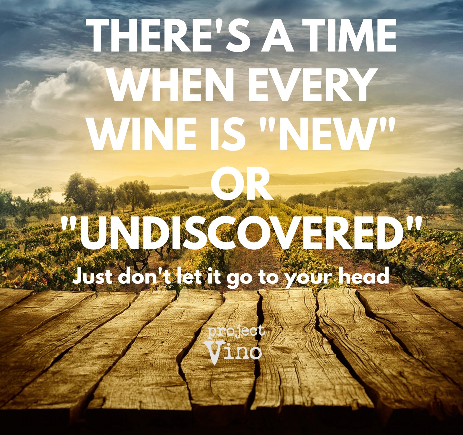 undiscovered & underrated wines