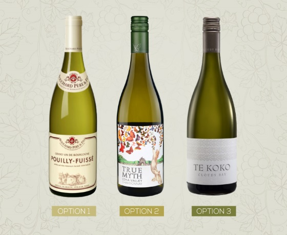 white wine label choices