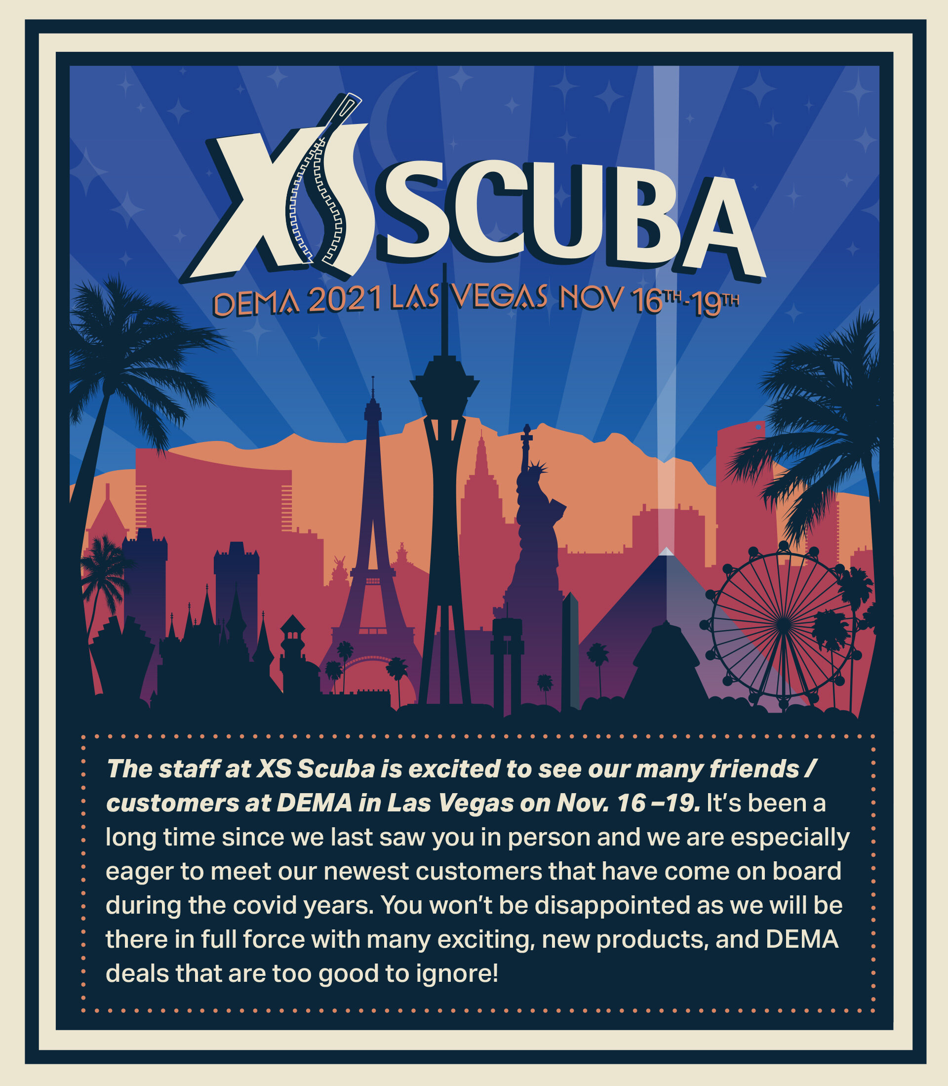 XS Scuba DEMA 2021
