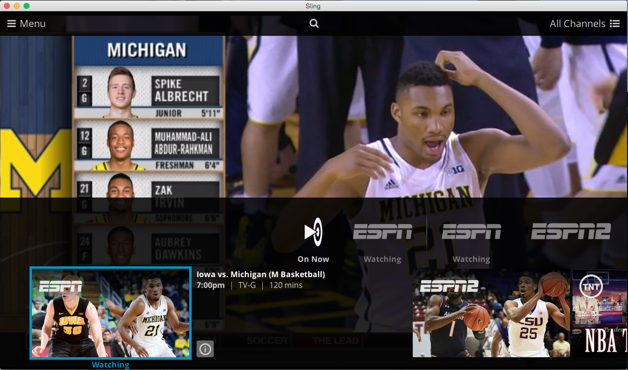 Sling TV impressions and review is ESPN worth $20 per month?