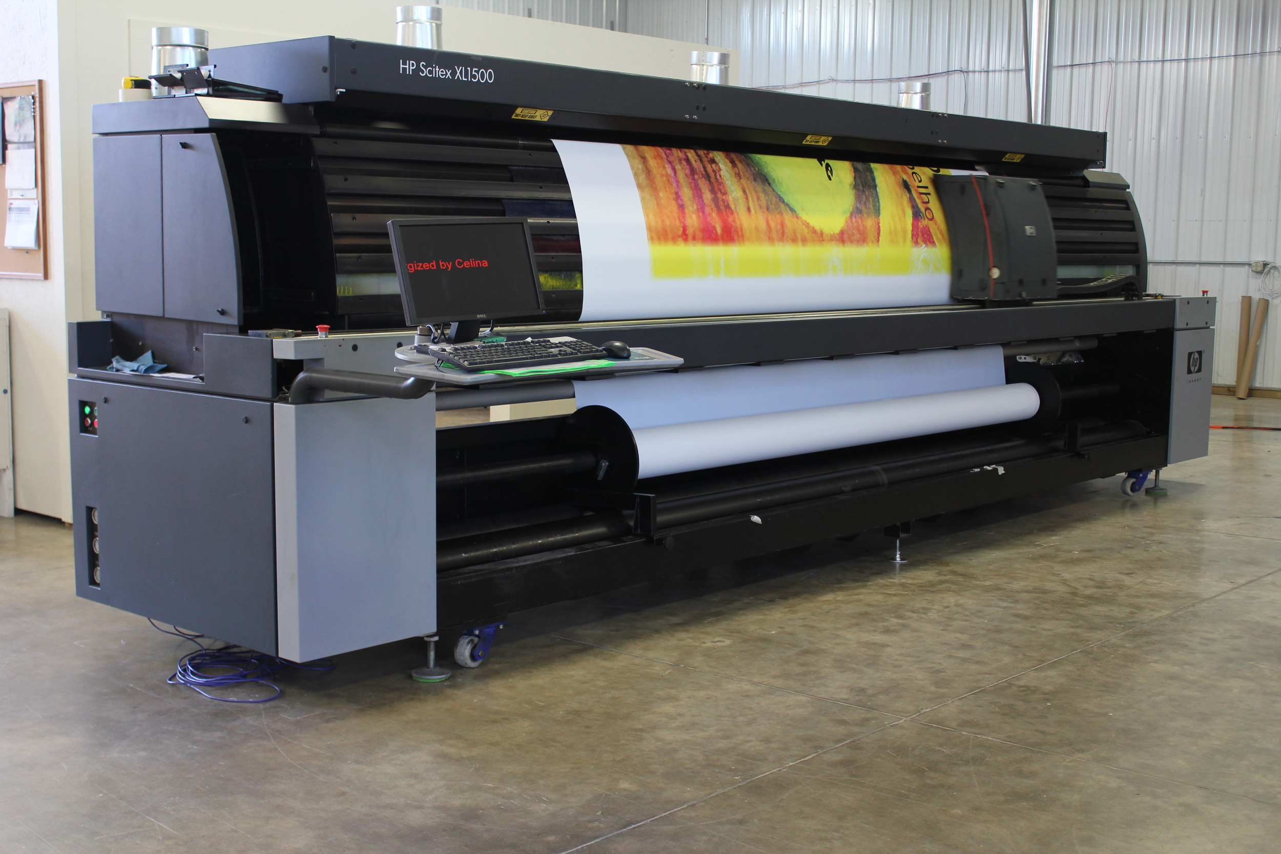 Printing — Celina - Contract Fabric & Textile Cutting