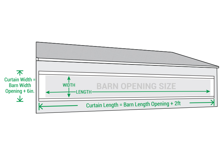 Agri-Barrier Curtains — Celina - Contract Fabric & Textile