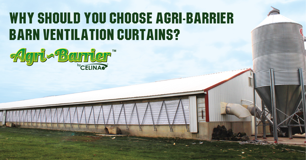 Why should you choose Agri-Barrier Barn Ventilation Curtains