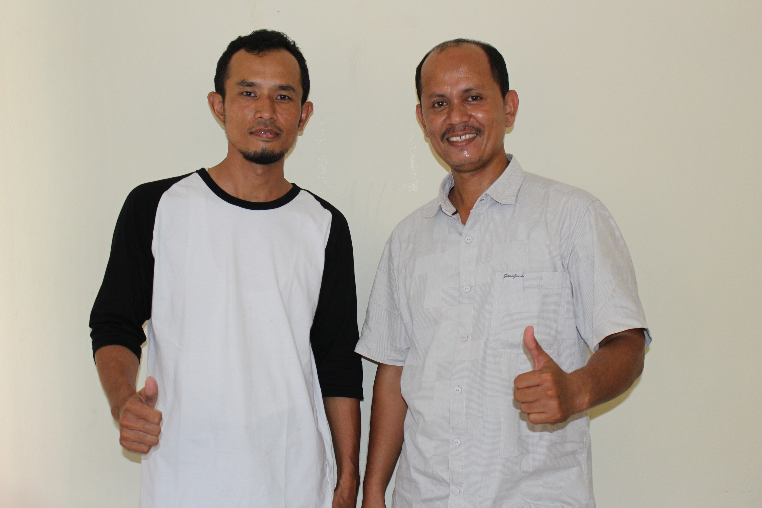 Our Communal Business Group Team (from left to right): Pak Adrian, Pak Hasbi (Not Pictured: Pak Rusli, Pak Arie, Kak Indah)